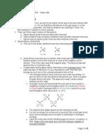 Chem 1AL Lab Exam 2013