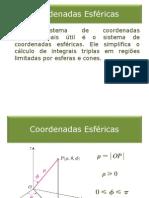 25_Integrais Triplas em Coordenadas Esféricas