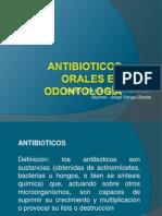 ANTIBIOTICOS ORALES EN ODONTOLOGÍA