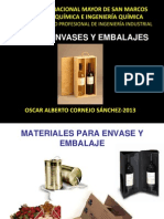 Curso Envases y Embalajes - III
