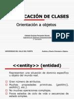 Clasificacion de Clases