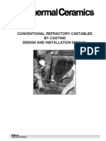 Conventional Refractory Castables by Casting