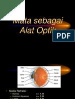 8 - Mata Sebagai Alat Optik