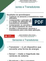 Aula Sensores e Transdutores