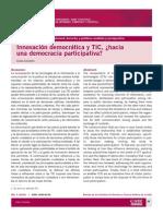 215_Innovacion Democratica y TIC Hacia Democracia Participativa (Celia Colombo)