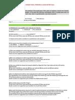 MUNICIPALES 2014 TASSY Questionnaire