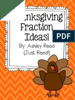 Thanksgiving Fraction Ideas