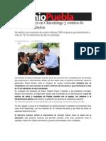 06-08-2013 Sexenio Puebla - RMV Inaugura en Chiautzingo 3 Centros de Salud Rehabilitados