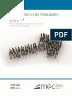 Plan Nacional de Educación 2024
