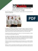 06-08-2013 Sexenio Puebla - Inicia trabajos la Comisión para el Desarrollo Integral Sur-Sureste de la Conago