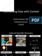 Connecting Metabolomic Data with Context