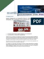 06-08-2013 Blog Rafael Moreno Valle - INICIA TRABAJOS LA COMISIÓN PARA EL DESARROLLO INTEGRAL DE LA REGIÓN SUR-SURESTE DE LA CONAGO