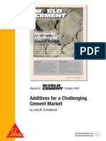 Additives for a Challenging Cement Market