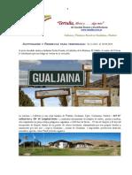 TERTULIA GUALJAINA Costos de Actividades y Hospedaje Casa Rural