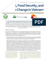 Land Use Food Security Climate in Vietnam Policy Brief