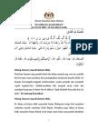 Di Ambang Ramadhan