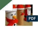 manualidade navideñas