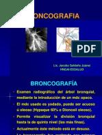 Semiologia Bronquial - Broncografia