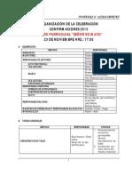 Organizacion Confirmaciones 2013 27 de Oct