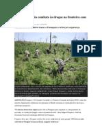 Paraguai amplia combate às drogas na fronteira com Brasil