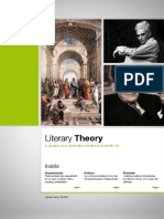 Literary Theory Syllabus, Fall 2009