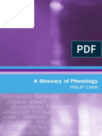 A Glossary of Phonology (2008)