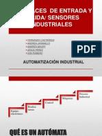 Interfaces de entrada y salida/Sensores industriales