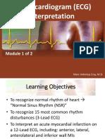 Electrocardiogram (ECG) Interpretation_Part 1 of 2