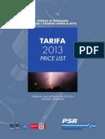 Psr Tarifa 2013 Web