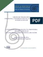 A EXPANSÃO DA CIDADANIA NA FRONTEIRA Brasil.Uruguai
