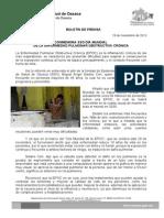 19 de nov de 2013_CONMEMORA SSO DÍA MUNDIAL  DE LA ENFERMEDAD PULMONAR OBSTRUCTIVA CRÓNICA