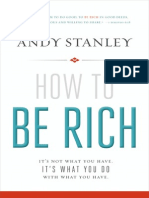 How to Be Rich by Andy Stanley (Excerpt)