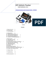 VT310-GPS Tracking Device User Manual