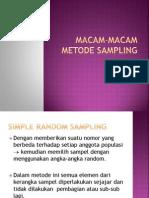 MaCAM-MACAM-METODE-SAMPLING.ppt