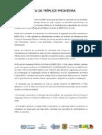 Carta Triple Fronteira 161