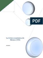 La Crisis económica de México 1994.docx