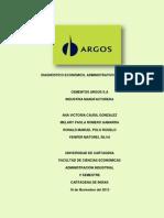 DIAGNÓSTICO ECONÓMICO EN CEMENTOS ARGOS S.A
