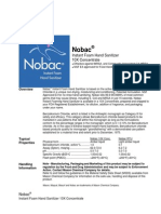 Nobac 10 X Concentrate Data Sheet