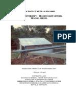 (MOCHAMAD RIDWAN 054110001) Tugas Aplikasi Teknologi Hybrid Pada Energi Terbarukan