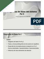 Diagramas de Fases Del Sistema Fe-C