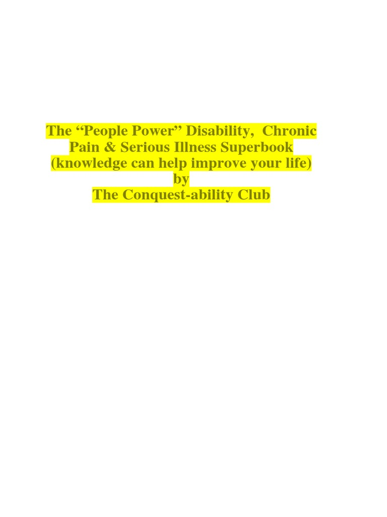 the people power disability serious illness senior citizen superbook book 10 senior citizens guide 2 money housing products tony kelbrat
