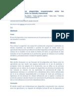 Intoxicaciones Por Plaguicidas Ocupacionales Entre Los Agricultores en Bolivia(Trad)