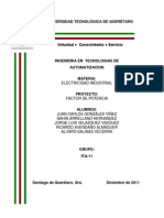 Pro Yec to Electricidad