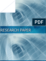 What is research paper