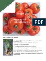 Planning Your Veg Garden p 2