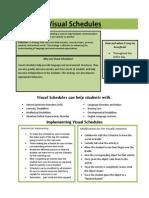 visual schedules lh