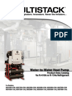 Water to Water Heat Pump Catalog_R134a_R410a