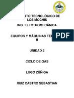Equipos y Maquinas Termicos 2 Unidad 2