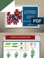 Leyes de Mendel y Mutaciones