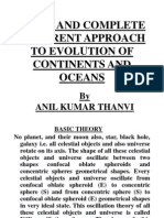 A NEW AND COMPLETE DIFFERENT APPROACH TO EVOLUTION OF CONTINENTS AND OCEANS(AMENDED - 1)